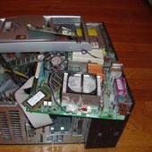 computer meltdown