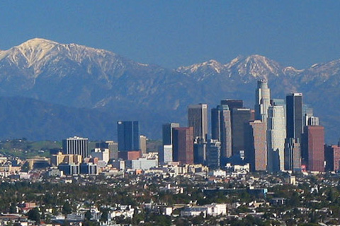 panorama of Los Angeles