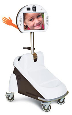 Pebbles robotic teleconferencing