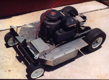 rc lawn mower