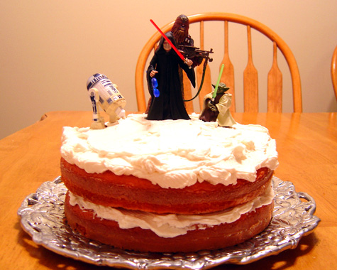 The star wars cake